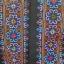ผ้าปักลายสีน้ำเงิน + ชมพู สีสัน ยาว 1 วา กว้าง 6.5 นิ้วลายผ้า 4.5 นิ้ว โดยประมาณ thumbnail 2