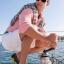 M7 (26 cm.) : Crocs Beach Line Boat Shoe Men - Espresso / White ของแท้ Outlet ไทยและอเมริกา thumbnail 4