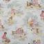 ผ้าฝ้ายญี่ปุ่นลาย เด็กผู้หญิง Petite Marianne โทนครีม-เขียวอ่อน น่ารักมากค่ะ ผ้าเนื้อดีสีสวย คอตตอน 100% thumbnail 2