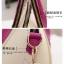 พร้อมส่งจ้า*** กระเป๋าแฟชั่น ทรงสวยเรียบหรู สีขาว สายสีชมพู เก๋ๆ สามารถถือและสะพายได้ทั้งสองแบบ thumbnail 6