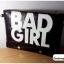 กระเป๋าแฟชั่น BAD GIRL สีดำ หนัง PU ใส่ IPAD ได้ มีสายสะพาย ((โปรโมชั่นส่งฟรี)) thumbnail 5