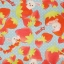 ผ้าคอตตอนลินิน ญี่ปุ่นลายกระต่าย Mofy กับ สตรอเบอรี่ สีฟ้าสดใส ผ้าเนื้อหนา นิ่ม เหมาะกับงานผ้าทุกชนิด สำเนา thumbnail 1