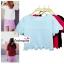 เสื้อแฟชั่น สีชมพูเข้ม ผ้าฮานาโกะ ทรงสวย แบบน่ารักๆ เป็นหยักๆช่วงเอวและแขน เนื้อผ้า อยู่ทรง ใส่สบาย ไม่ยับง่าย สินค้าคุณภาพ ราคาไม่แพง thumbnail 3