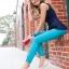 W7 (24 cm.) : Crocs Women's Cap Toe Flat - Candy Pink / Ultraviolet ของแท้ Outlet ไทยและอเมริกา thumbnail 3