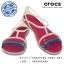 W6 (23.5 cm.) : Crocs Isabella Sandal - Berry / Oyster ของแท้ Outlet ไทยและอเมริกา thumbnail 1