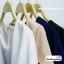 เสื้อผ้าแฟชั่น เสื้อทำงาน ผ้าฮานาโกะตัดแต่งแขนเก๋ๆ สีนู้ด แบบสวยเรียบหรู สินค้าคุณภาพดี ราคาไม่แพง thumbnail 11