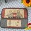 กระเป๋าใส่ Ipad โทนสีแดง มีช่องใส่ของจุกจิกด้านหน้ากระเป๋า ผ้าญี่ปุ่น ควิลล์มือค่ะ ปกป้องไอแพดที่รักของคุณ น่ารักไม่ซ้ำใคร thumbnail 2