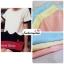 เสื้อแฟชั่น เสื้อทำงาน ผ้าฮานาโกะ สีฟ้า แบบสวยน่ารัก สีทูโทน เอวหยัก เนื้อผ้านิ่ม อยู่ทรง ไม่ยับง่าย ใส่สบาย สินค้าคุณภาพ ราคาไม่แพง thumbnail 7