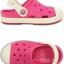 J3 (22.5 cm.) : Crocs Bump It Clog - Candy Pink / Oyster ของแท้ Outlet ไทยและอเมริกา thumbnail 2