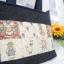 กระเป๋าผ้าสไตล์ คันทรี เป็นกระเป๋าสะพายไหล่ ต่อผ้า ควิลล์มือทั้งใบ น่ารักสไตล์ญี่ปุ่น ขนาด กว้าง 35 ซม สูง 30 ซม ฐานกว้าง 10 ซม สายสะพายยาว 60 ซม thumbnail 2