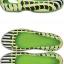 W6 (23 cm.) : Crocs Kadee MONDO Chevron Flat - Volt Green ของแท้ Outlet ไทยและอเมริกา thumbnail 2