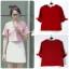 เสื้อแฟชั่นผ้าฮานาโกะ เสื้อทำงาน สีแดง แขนสามส่วนแต่งโบว์ น่ารักมากๆ สินค้าคุณภาพดี ราคาไม่แพง thumbnail 2