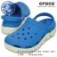 M4/W6 (24 cm.) : Crocs Duet Sport Clog - Ocean / White ของแท้ Outlet ไทยและอเมริกา thumbnail 1