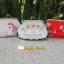กระเป๋าปิ้กแป้กขนาด 7 cm ผ้าอเมริการ ควิลล์มือ สำหรับใส่เหรียญ ของจุกจิก (สินค้าฝากขาย ไม่บวกเพิ่ม ) thumbnail 3