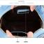(หมดจ้า) กระเป๋า Axixi ทรงกลม สีฟ้า ภาพพิมพ์หอไอเฟล ซิปเป็นรูปโบว์ด้านบนน่ารักๆ มีสายสะพายสีทอง thumbnail 5