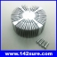 SIK003: ฮีทซิงค์ ระบายความร้อน หลอดไฟ LED Round Aluminum Heatsink for 50-100W LED High Power Panel thumbnail 1