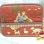 กระเป๋าใส่ Ipad โทนสีแดง มีช่องใส่ของจุกจิกด้านหน้ากระเป๋า ผ้าญี่ปุ่น ควิลล์มือค่ะ ปกป้องไอแพดที่รักของคุณ น่ารักไม่ซ้ำใคร thumbnail 1