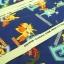 คอตตอนลินินญี่ปุ่น ลาย Pokemon ของแท้จาก เหมาะสำหรับงานผ้าทุกชนิด ตัด กระโปรง ทำกระเป๋า ปลอกหมอน และอื่นๆ thumbnail 3