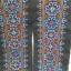 ผ้าปักลายสีน้ำเงิน + ชมพู สีสัน ยาว 1 วา กว้าง 6.5 นิ้วลายผ้า 4.5 นิ้ว โดยประมาณ thumbnail 4