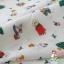 คอตตอนญี่ปุ่น ลายคริสต์มาส สีขาว เนื้อดีหมาะสำหรับงานผ้าทุกชนิด ตัด กระโปรง ทำกระเป๋า ปลอกหมอน และอื่นๆ thumbnail 2