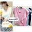 เสื้อแฟชั่น ผ้าฮานาโกะ สีชมพู แต่งระบายอกสวยหวาน สินค้าคุณภาพ ราคาไม่แพง thumbnail 1