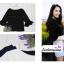 เสื้อแฟชั่น เสื้อทำงาน ผ้าฮานาโกะ สีขาว แขนกระดิ่งสามส่วน แบบสวยเรียบหรู สินค้าคุณภาพ ราคาไม่แพง thumbnail 11