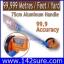 DMT013: เครื่องมือวัดระยะ ล้อวัดระยะทาง Distance Measuring 99999.9m ชนิดเดินตาม วัดระยะได้ไกล 99999.9เมตร thumbnail 1