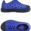 J3 (21.5 cm.) : Crocs Bump It Shoe - Cerulean Blue / Navy ของแท้ Outlet ไทยและอเมริกา thumbnail 2