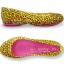 W6 (23.5 cm.) : Women's Crocs Carlisa Brushed Leopard Print Flat - Burst / Fuchsia ของแท้ Outlet ไทยและอเมริกา thumbnail 2