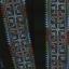 ผ้าปักสีโทนน้ำเงิน ยาว 1 วา ลายกว้างประมาณ 2.5 นิ้ว ใช้ตัดเย็บเสื้อผ้า กระเป๋า thumbnail 1