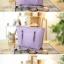 กระเป๋าแฟชั่น สีชมพู สะพายไหล่ ลายหนังจระเข้ เรียบหรู มีซิปเปิดปิด ใส่ของได้เยอะ ((โปรโมชั่นส่งฟรี)) thumbnail 3