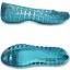 J6 (25 cm.) : Crocs Adrina II Glitter Flat Girls - Surf / Aqua ของแท้ Outlet ไทยและอเมริกา thumbnail 2