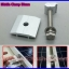 Solar Middle Clamp 50mm ยึดกลางแผงโซล่าเซลล์ อุปกรณ์ติดตั้งแผงโซล่าเซลล์มาตรฐาน ผลิตจากอลูมิเนียมอัลลอยคุณภาพดี thumbnail 1