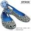W6 (23 cm.) : Crocs Kadee MONDO Circles Flat - Ocean ของแท้ Outlet ไทยและอเมริกา thumbnail 1