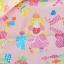 ผ้าคอตตอนลินินญี่ปุ่น ลาย เด็กผู้หญิง Popping Smoothie สีชมพูหวานเนื้อดีลายน่ารักมากค่ะ thumbnail 3