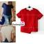 เสื้อแฟชั่น ผ้าฮานาโกะ สีแดง แบบสวยเก๋ เนื้อผ้านิ่ม อยู่ทรง ไม่ยับง่าย ใส่สบาย สินค้าคุณภาพ ราคาไม่แพง thumbnail 1