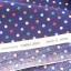 ผ้าลายจุดหลากสีพื้นน้ำเงิน ของ D's Selection ผ้าฝ้ายเนื้อดีลายจุด ขนาด 3 มม thumbnail 2