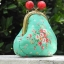 กระเป๋าปิ้กแป้กขนาด 7 cm สูง 5 นิ้ว ผ้าญี่ปุ่น ควิลล์มือ สำหรับใส่เหรียญ ของจุกจิก (สินค้าฝากขาย ไม่บวกเพิ่ม ) thumbnail 2
