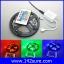 LES036 ไฟLED RGB 300LEDs Flexible Strip Ribbon 5M 3528 12V 60LED/M พร้อมชุดรีโมทควบคุม เปลี่ยนสีได้ (ไม่กันน้ำ) thumbnail 1