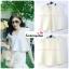 เสื้อแฟชั่นผ้าฮานาโกะ เสื้อทำงาน สีขาว คอวี ชายเสื้อพริ้ว สวยหวาน สินค้าคุณภาพ ราคาไม่แพง thumbnail 2