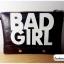 กระเป๋าแฟชั่น BAD GIRL สีดำ หนัง PU ใส่ IPAD ได้ มีสายสะพาย ((โปรโมชั่นส่งฟรี)) thumbnail 4