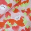 ผ้าคอตตอนลินิน ญี่ปุ่นลายกระต่าย Mofy กัยบ สตรอเบอรี่ สีชมพูสดใส ผ้าเนื้อหนา นิ่ม เหมาะกับงานผ้าทุกชนิด thumbnail 3
