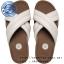 US10 : Fitflop X-Tracomff Slide Urban White ของแท้ นำเข้าจาก USA และ UK thumbnail 1