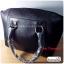 (หมดจ้า) กระเป๋าแฟชั่น ดีไซน์สวยเรียบหรู สีดำ คลาสสิค แบบยอดนิยม เหมาะกับทุกโอกาส สามารถถือและสะพายได้ทั้งสองแบบ ((โปรโมชั่นส่งฟรี)) thumbnail 4