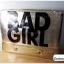 กระเป๋าแฟชั่น BAD GIRL สีทอง หนัง PU ใส่ IPAD ได้ มีสายสะพาย ((โปรโมชั่นส่งฟรี)) thumbnail 7