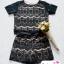 พร้อมส่งค่า ชุดเสื้อ+กางเกง ผ้าลูกไม้ สีดำ มีซับในอย่างดี สวยหวาน สินค้าคุณภาพ ราคาไม่แพง thumbnail 2