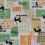 คอตตอนลินินญี่ปุ่นลาย Patchwork น้องแมวโทนเขียว thumbnail 4
