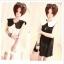 (หมดจ้า) ชุดเดรสคอบัวสีขาวน่ารักๆสไตล์เกาหลี thumbnail 1