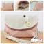 (หมดจ้า) กระเป๋าผ้า แฮนด์เมด ญี่ปุ่น สีชมพูลายจุด มีสายสะพายไหล่ มีช่องใส่ด้านในหลายช่อง สวยน่ารักๆค่ะ (ขายปลีก 280,ขายส่ง 3 ชิ้นๆละ 230 บาท คละได้ทุกแบบ) thumbnail 1