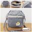 (หมดจ้า) กระเป๋าผ้า แฮนด์เมด ญี่ปุ่น สีน้ำเงิน ผ้าลายสก๊อต มีสายสะพายไหล่ ขนาดกะทัดรัด น่ารักๆค่ะ thumbnail 1